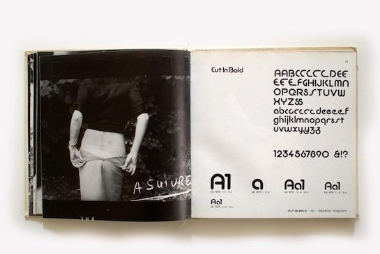 Letragraphica Letraset book