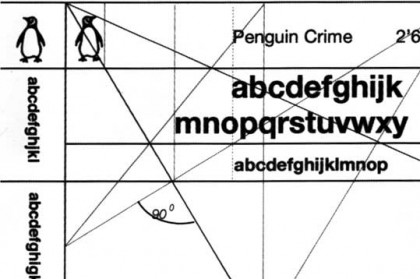 The Marber Grid - classic Penguin book cover layout