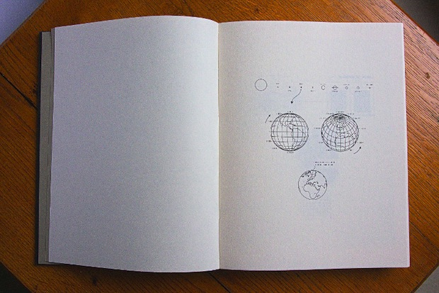 open book with scientific diagrams