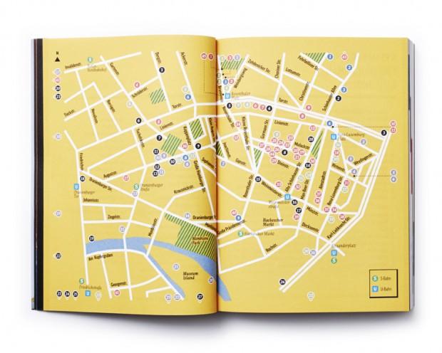 Berlin Design Guide interior spread map