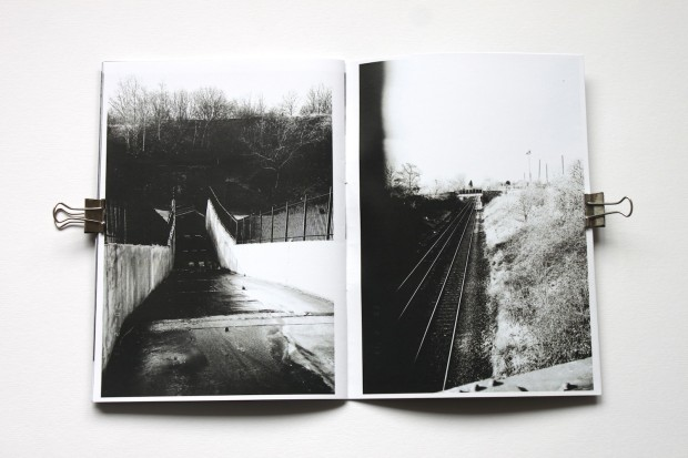 Found black and white 35mm photography zine by eberythingslive