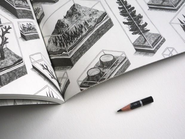 Tiny Pencil zine (work by Jamie Mills)