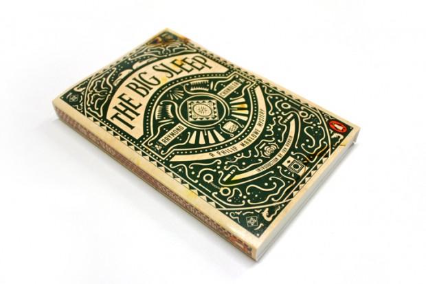 Book Cover Inspiration Design : The big sleep book cover design