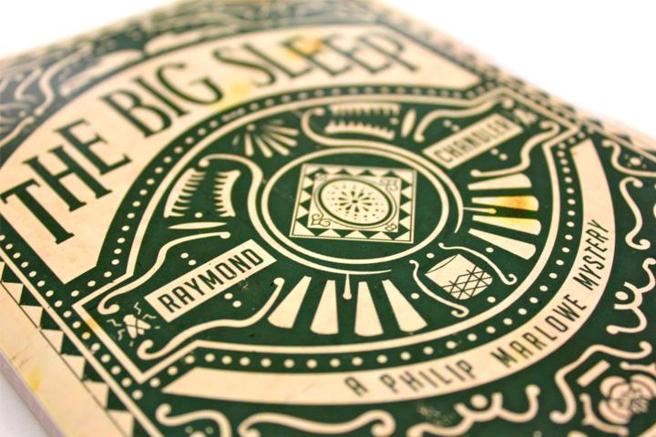 the big sleep book cover design inspiration