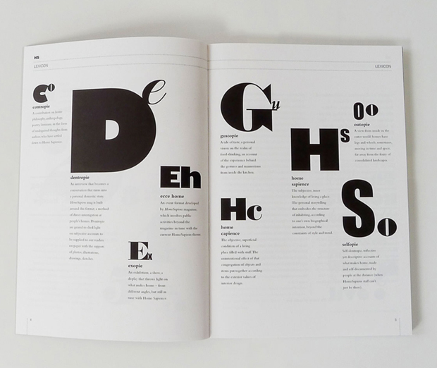 typography magazine editorial design inspiration