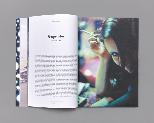 Nevertheless magazine editorial design inspiration