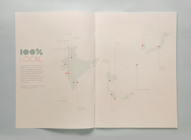 map zine design inspiration