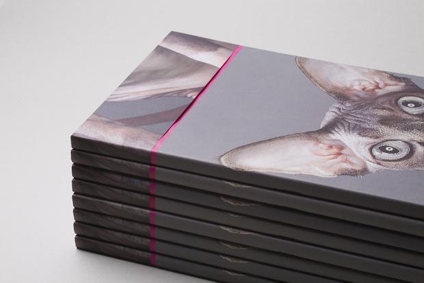 mini portfolio book and catalogue design inspiration
