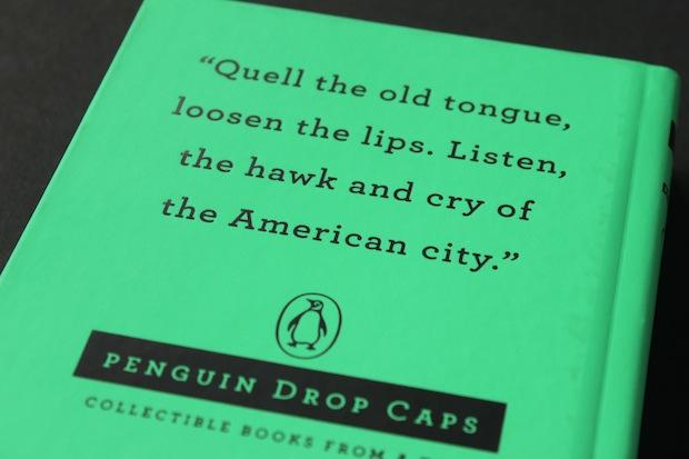 Penguin Drop Caps book cover series