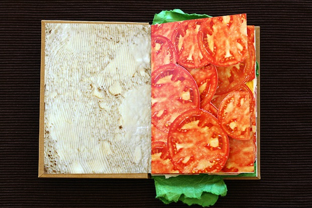 sandwich book clever creative design inspiration