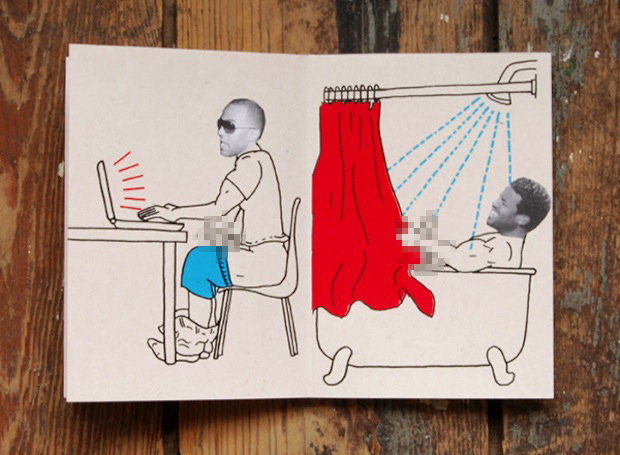 7 Days with Craig David zine design inspiration
