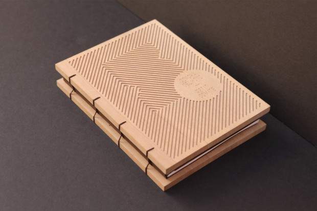 wooden book design inspiration