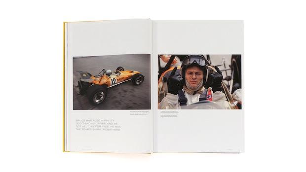 McLaren Formula 1 Racing book design inspiration