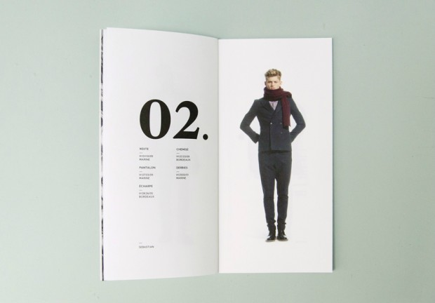 fashion label look book design inspiration