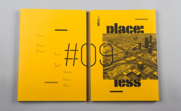 Modern Book Cover Inspiration : Dédalo magazine the book design