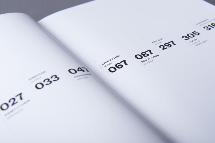 graphic design inspiration - clean typographic book interior spread design