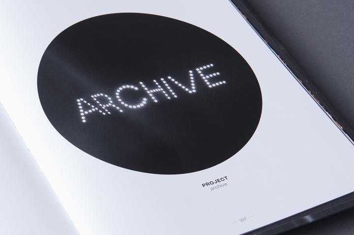 graphic design inspiration - typographic book interior spread design