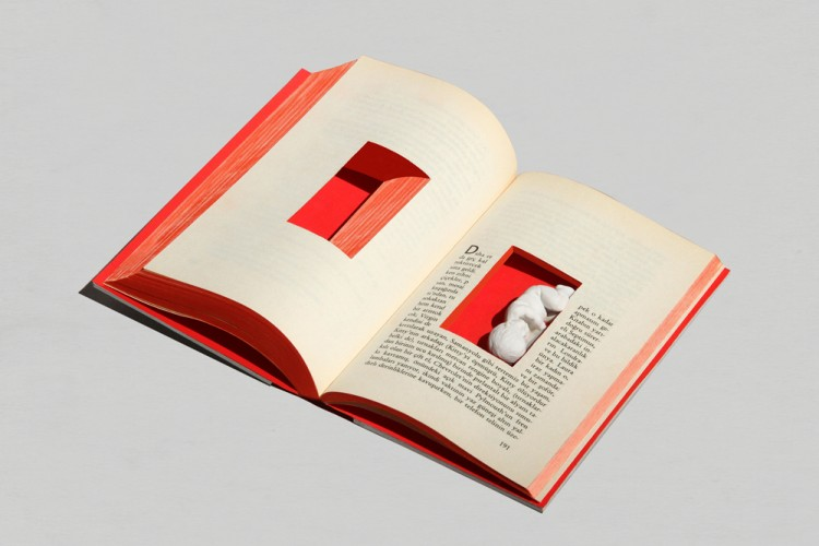 Graphic design inspiration – experimental book design