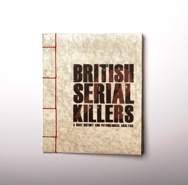 graphic design inspiration – British Serial Killers book