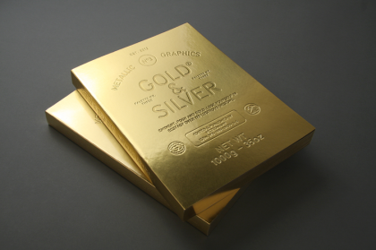 Book design inspiration – A book that looks like a gold bar