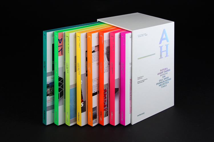 Book Design Inspiration – I Love Type Limited Edition Box Set published by viction:ary