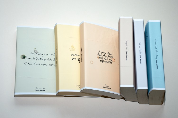 Jane Austen series cover designs