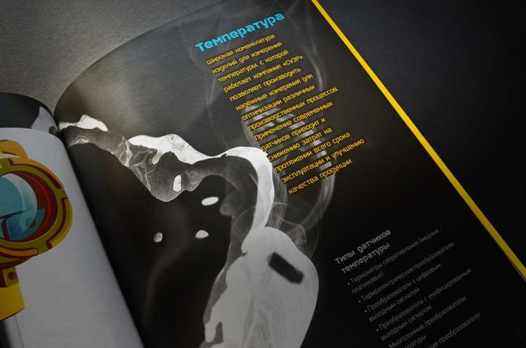 Book Design Inspiration – Catalog interior page spread