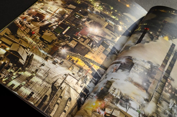 Book Design Inspiration – Catalog interior page spread