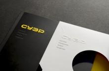 Book Design Inspiration – Catalog die-cut slip case