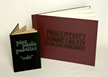 lino printed illustrated book typogrpahy